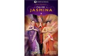 plakat - caj od  jasmina
